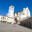 The Assisi cathedral — Stockfoto