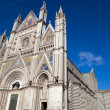 Orvieto cathedral, Italy — Stock Photo