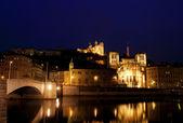 Lyon panorama — Stock Photo