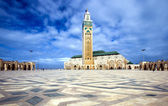 The Mosque of Hassan II in Casablanca — Stock Photo