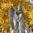 ストック写真: Sculpture of angels in cemetery, Budapest