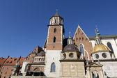La Catedral de wavel, en Cracovia, Polonia — Foto de Stock