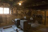 Oswiecim, polen - oktober 22: das krematorium in auschwitz i, einem ehemaligen nazi-vernichtungslager am 22. oktober 2012 in oswiecim, polen. es war das größte nazi-konzentrationslager in europa. — Stockfoto