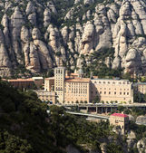The Montserrat abbey, Spain — Stockfoto