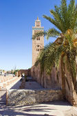The Koutoubia mosque in Marrakesh — Stock Photo