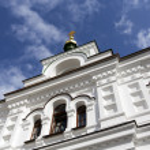 View of Kiev Pechersk Lavra Orthodox Monastery, Ukraine — Stock Photo #23093180