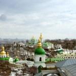 View of Kiev Pechersk Lavra Orthodox Monastery, Ukraine — Stock Photo #23093234