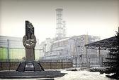 Atómica de chernobil — Foto de Stock