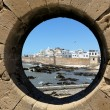 The ancient Moroccan city near the ocean — Stock Photo