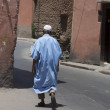 Street in the Moroccan city — Stock Photo