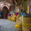 Market in the Moroccan city — Stock Photo