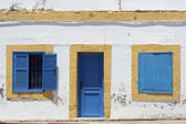 Background of clay houses — Foto de Stock