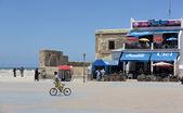 Square in the Moroccan city — Stock Photo
