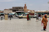 Area in the Moroccan city — Stock Photo