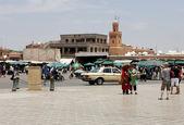Bereich in der marokkanischen Stadt — Stockfoto