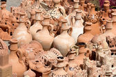 Pottery at the market in the Moroccan city — Foto Stock