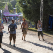 Visitors at the final day of Sziget Festival 2013, Budapest. 11-08-2013 — Stock Photo #29924173