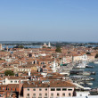 Beautiful Venice from the air. Cityscape panorama — Stock Photo