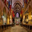 Interior of the Wroclaw cathedral — Stock Photo