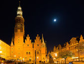 The City hall in Wroclaw — Foto de Stock