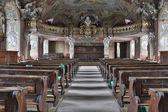 Barocken innenausstattung der aula-leopoldium worlaw universität — Stockfoto