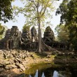 Preah Khan temple in Angkor near Siem Reap, Cambodia — Stock Photo