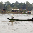 Stock Photo: Boat on Mekong River, Vietnam