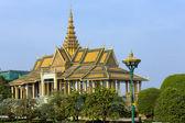 The Royal Palace in Phnom Phen, Cambodia — Stock Photo