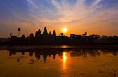 Sunrise in Angkor Wat — Stock Photo