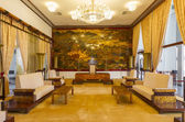 Reception room at the Reunification Palace — Stock Photo
