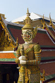 Giant in Wat Phra Kaew, Temple — Foto de Stock