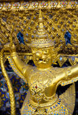 Golden buddha at Wat Pho temple in Bangkok, Thailand — Stock Photo