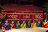 Vietnamese traditional puppet theater — Stock Photo