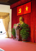 Statue of Ho Chi Minh in the Conference Hall — Photo