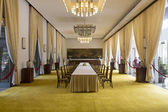 Meeting room at the Reunification Palace — Stock Photo