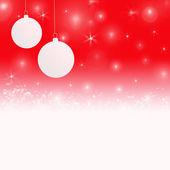 Weihnachten hintergrund in rot-weißen farben — Stockfoto
