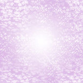 Abstract Christmas light purple background with snow and frost — Stock Photo