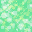 Green abstract spring background with bokeh shining — Stock Photo #21436741