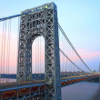 GW Bridge from NJ — Stock Photo #21653551