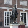 George Washington Independence Hall statue — Stock Photo #21656093