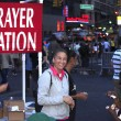 Stock Photo: Open air preacher 14th street NYC