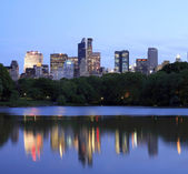 NYC from Central Park — Stockfoto