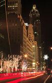 Christmas NYC 5th avenue — Stock Photo