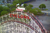 Coney Island Cyclone — Stock Photo