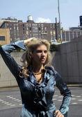 Mulher na moda — Foto Stock