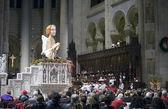 рождество массового divinue церковь святого иоанна — Стоковое фото
