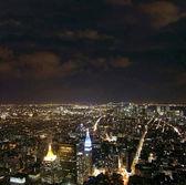 NYC at night — Stock Photo