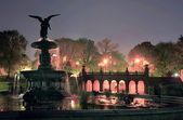 Bethesda Terrace Central Park NYC — Stock Photo