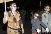 Halloween parade NYC — Stock Photo