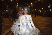 Halloween parade NYC — Stock Photo